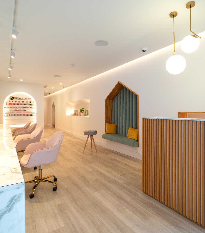 Reception Manicure Salon
